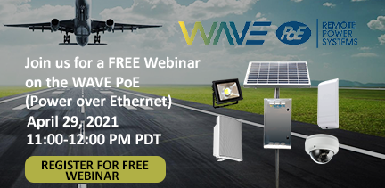 Join us with our free webinar on Power over Ethernet on April 29th. Register now.