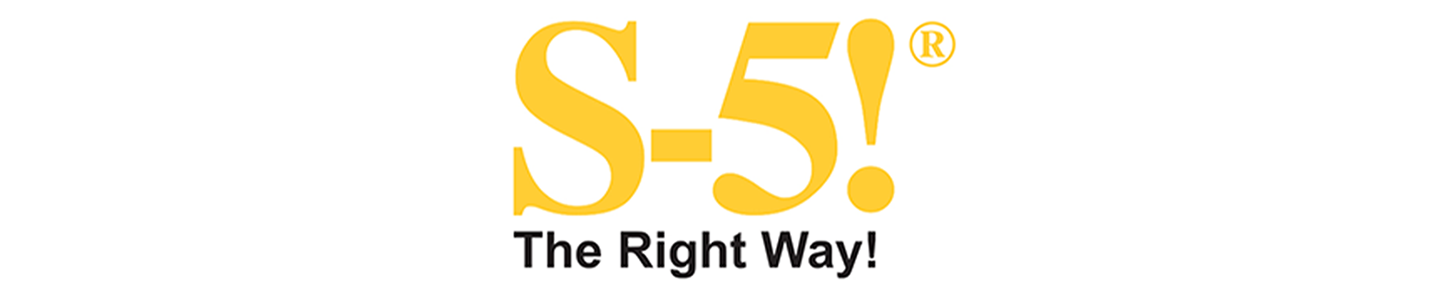 S-5! Logo - The Right Way!